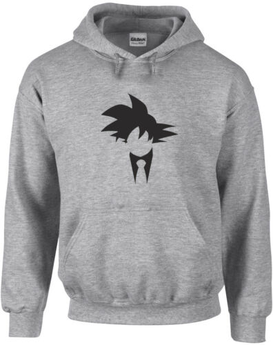 DragonballZ Inspired Printed Hoodie New Cool Fitness Pullover Goku Suit /& Tie