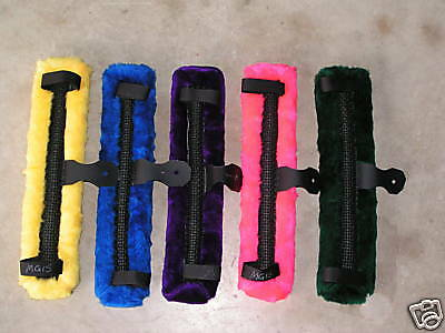 Miniature Mini Horse Fleece Driving Harness Saddle Pad