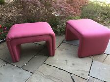 Milo Baughman for Thayer Coggin PAIR of Ottomans / benches