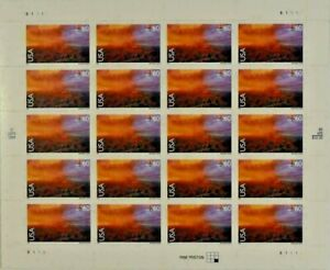 Two Sheets x 20 = 40 of 60¢ GRAND CANYON, Arizona US PS Postage Stamps. Sc #C135