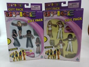 Spice-Girls-2-Gift-4-Pack-3-inch-Dolls-figures-Toymax-Posh-Baby-Scary-Sporty-New