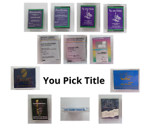 Christian Praise Accompaniment Tracks Medium Range Cassette Tapes You Pick Title