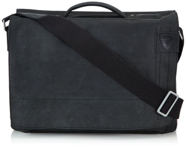 Accurato Strellson Messenger Bags 4010001261 Nero Schwarz (black 900) Smoothing Circulation And Stopping Pains