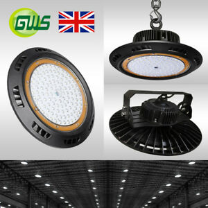 UFO-LED-High-Bay-Light-50W-100W-150W-200W-Commercial-Warehouse-Industrial-Lamp