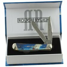 Rough Rider Merry Christmas Candy Cane Double Take Trapper Folding