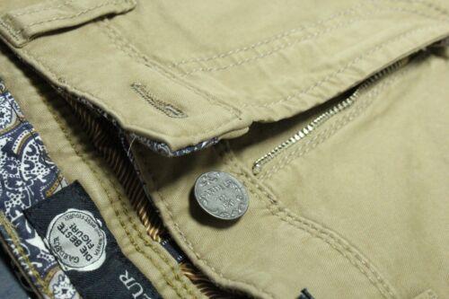 NEW DESIGNER JEANS GARDEUR 34W 35W 36W Brown Stretch Pima Cotton FLEX NEVIO $245
