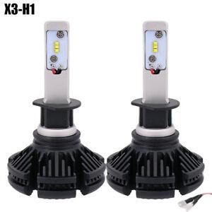COPPIA-LAMPADE-X3-LED-HEADLIGHT-H1-LED-CREE-6500K-6000-LUMEN-12V-XENON-FARI-AUTO