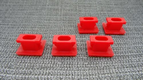 10x Trim Clips Car Insert For Dashboard Grommets Volvo