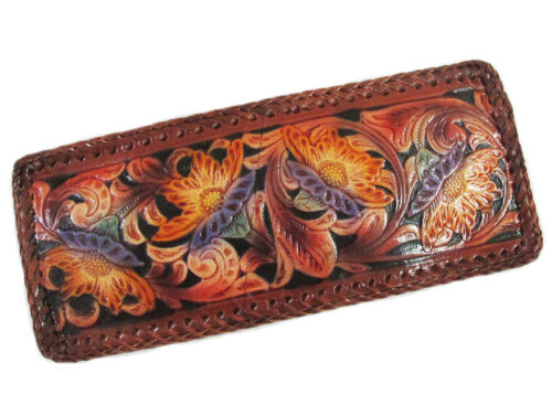 """1005 GENUINE COW HIDE LEATHER WALLET 4/"""" X 4.50/"""""""