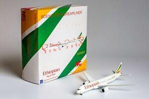 """1:400 NG 55063 Ethiopian Airlines 787-9 Dreamliner ET-AUP <named """"London"""">"""