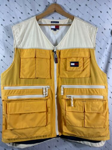 Vintage Tommy Hilfiger Fishing vest XL