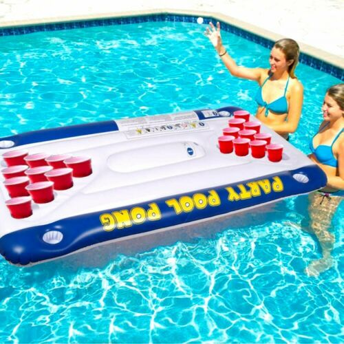 Matelas gonflable Beer Pong