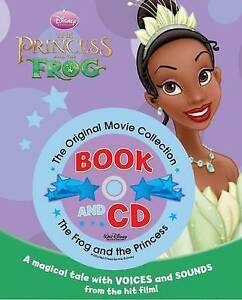 Disney-Storybook-amp-CD-Princess-and-the-Frog-by-Good-Used-Book-Hardcover-Fas