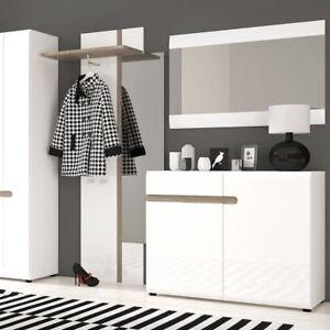 Solna VIVENTE Design 109.5cm ampio Specchio da parete bianco bagno ...
