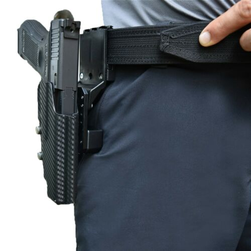 USPSA Professional Heavy Duty Competition Belt for IPSC 3 Gun Shooting