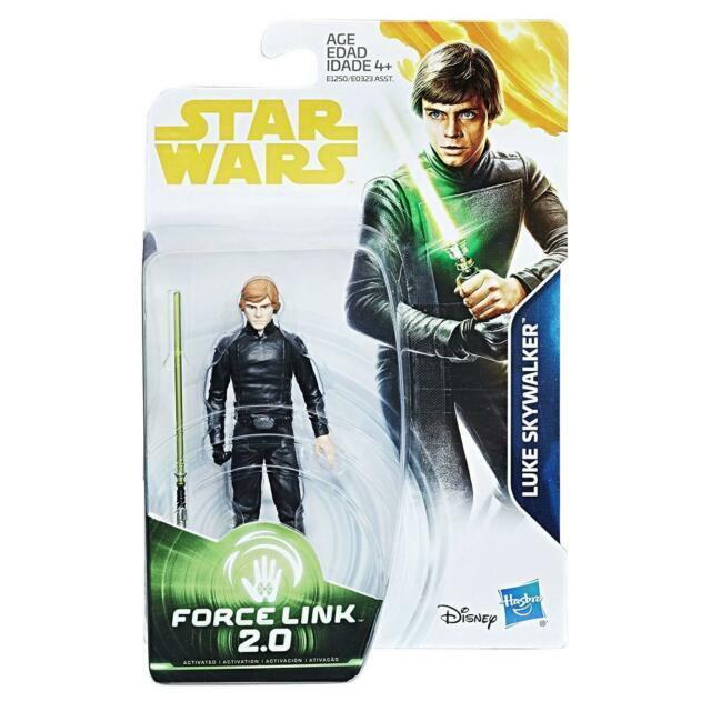 Star Wars Force Link 2.0 Luke Skywalker Jedi Master Action Figure NEW