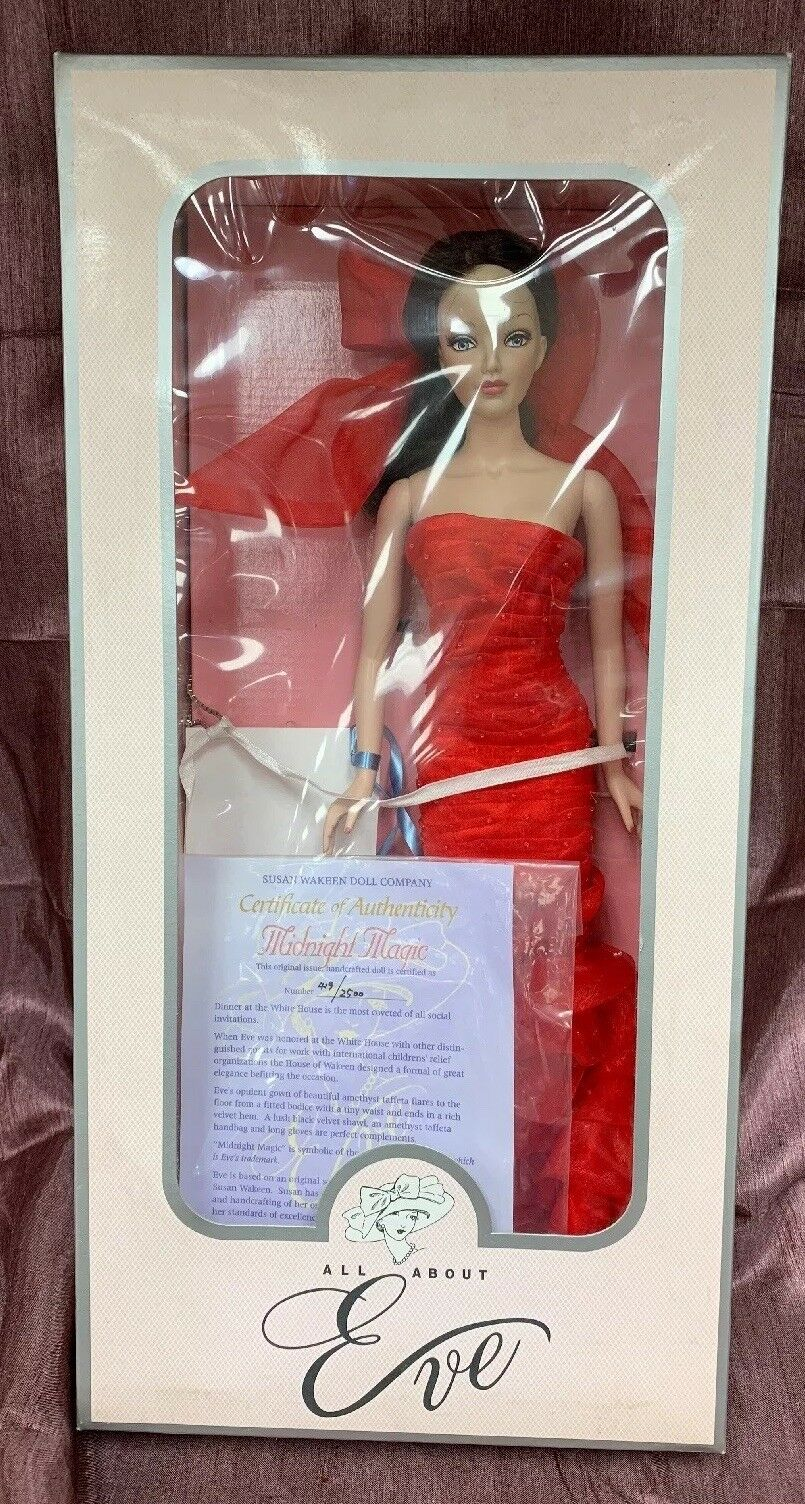 All About Eve Susan Wakeen Doll Company. Midnight Magic  COA.