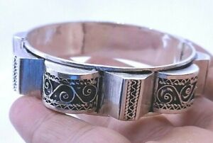 bracelet pyramide bérbere artisanat maroc - berber bracelet craft Morocco