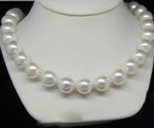 10 mm blanc Akoya Shell Pearl PERLES rondes Collier Bracelets Boucles d/'oreilles AAA