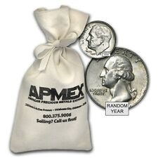 90% Silver Coins - $100 Face Value Bag - 90 Percent Silver - SKU #27