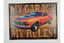 Quirky-Metal-Wall-Hanging-Plaques-Loads-of-Styles-30x40x1cm-Signs thumbnail 31