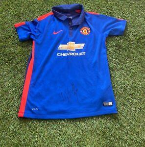 Manchester United Signed Shirt - DALOT & FRED **EXACT PROOF**