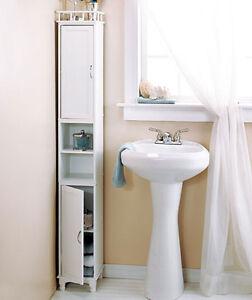 Bathroom Storage Ideas Tower Small Spaces Slim Tall