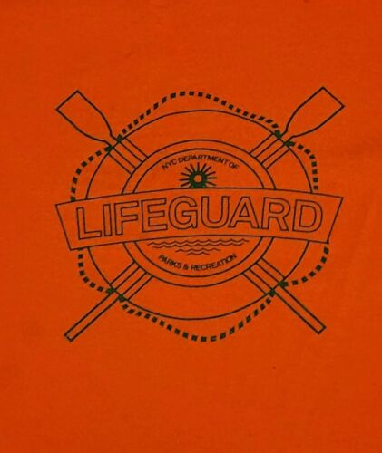 Nyc Parks and Recreation department Lifeguard XXL