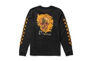 010c11cd267 Womens Vans Off the Wall Vincent Van Gogh Skull Long Sleeve Shirt ...