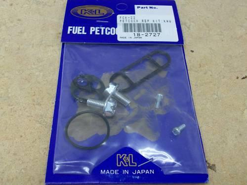 NEW FUEL PETCOCK REPAIR REBUILD KIT YAMAHA XT225 XT 225 1992 1993-2005 SERROW