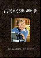 Murder She Wrote Complete 1st First Season 1 One Brand 3-disc Dvd Set
