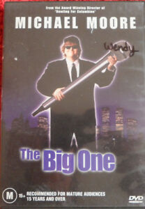 DVD-The-Big-One-Michael-Moore-M-87-min-R4-PAL