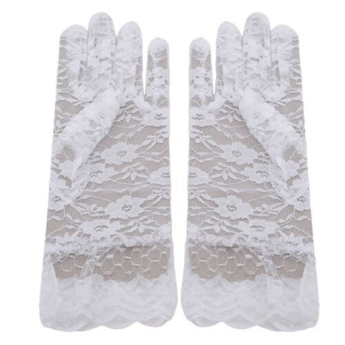 Women/'s Lace Hollow-Out Gloves Sun Protection Accessories Skid Resistance G