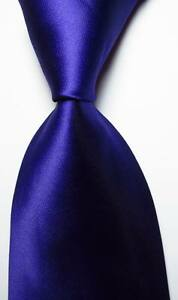 New-Classic-Solid-Purple-JACQUARD-WOVEN-100-Silk-Men-039-s-Tie-Necktie