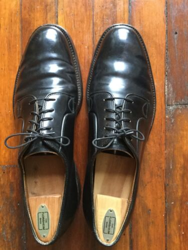 Lee Kee Shell Cordovan Plain Toe Derby