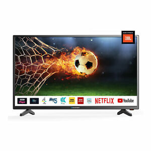 """Blaupunkt 32"""" Inch HD Ready LED Smart TV with JBL Speakers and Freeview Play HD"""