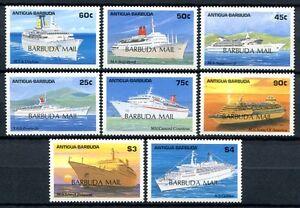 BARBUDA 1989 Schiffe Ships Bateaux Navi 1143-1150 **
