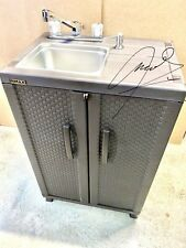 Portable Sink Mobile Handwash Sink Self Contained Cold And Hot Water 110v