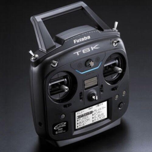Radiocomando Futaba TX 6K//V2 8CH FHSS R3006SB Elicottero Elettrico radio mode 1