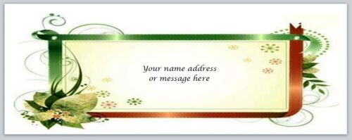 bo 555 30 Personalized Return Address Labels Flower Buy 3 get 1 free