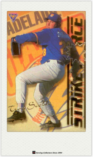 1995 Futera ABL Cards Strikeforce Firepower SFFP1 Troy ScobleBarrie Bahnert