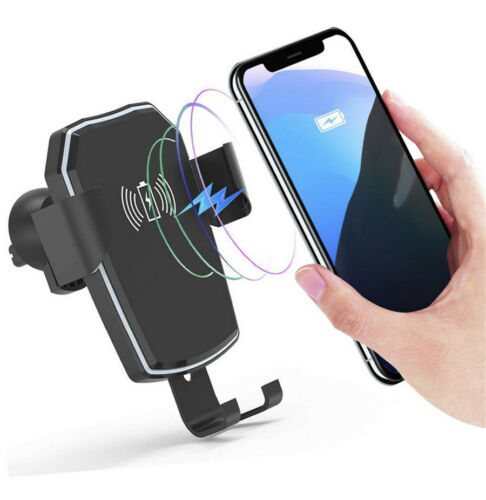 5W Car Air Vent Mount Qi Wireless Fast Charger Holder For Samsung S9 S8 iPhone X