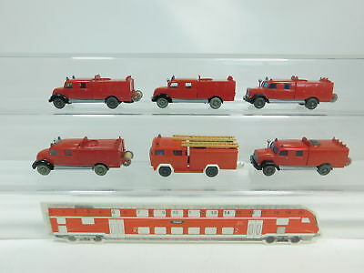 1:87 Fire Brigade/fw Magirus Deutz 2nd Choice/ Complete In Specifications Bk47-0 5 #6x Wiking H0