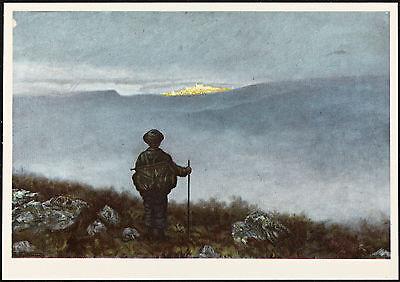 POSTER Th Kittelsen Askeladdens eventyr 1900 Norway Wall Art Print A3 replica