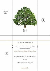 Personalised-Wedding-Invitations-Gatefold-Cards-50-A5-invites-with-envelopes