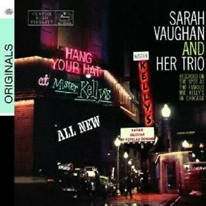 Sarah-vaughan-Live-at-Mister-Kelly-039-s-CD-NEUF