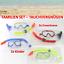Indexbild 1 - STRANDURLAUB-4x-Schnorchelset-Erwachsene-Kinder-Taucherbrille-Tauchmaske-2-2
