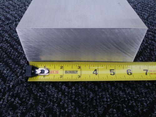 "1 pc 3/"" X 6/"" X 6/"" long new 6061 T6511 solid aluminum plate flat bar mill block"