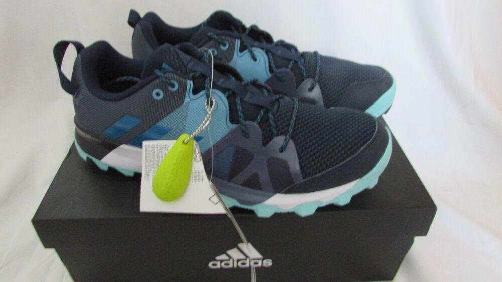 Adidas Kanadia 8.1 Trail TR Femme Chaussures De Course Sport Baskets Bleu Taille 4.5-