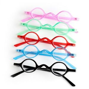 27832ab8b77 Image is loading Vintage-Small-Round-Oval-Frame-Reading-Glasses-Presbyopia-